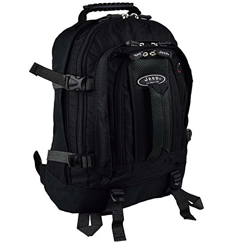 Backpack Rucksack Jeep Hand Luggage Size Cabin Flight Bag 576G - Buy Online  in Oman.  80ce79846d6c4