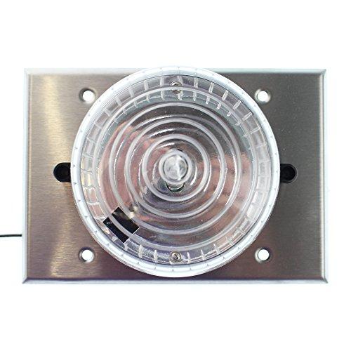 Lari-Jo DBSL-10-AC-C Visual DoorBell Notification Appliance, 117V, Stainless by Lari-Jo Inc.