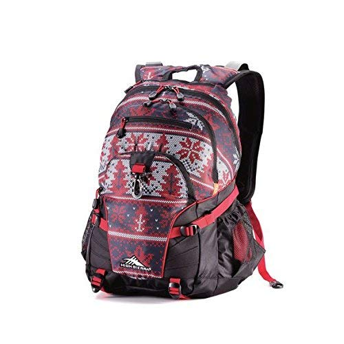 - High Sierra Loop Special Edition Snow Sports Canada Backpack, Maple Leaf, International Carry-On