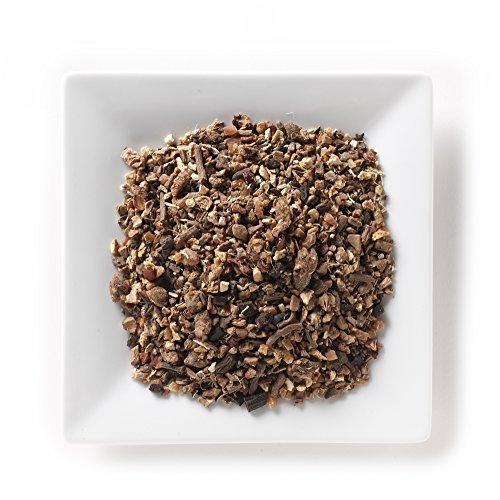 Mahamosa Red Ginseng Organic Tea 2 oz - Loose Leaf Herbal Spice Tea Blend (with red ginseng, dandelion root, cinnamon, fig, licorice root, orange peel, apple and vanilla bean) (Red Apple Organic Tea)