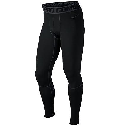 774fe3839c0 Nike Pro Combat Mens Hyperwarm Drifit Compression Pants Black Size 2XL