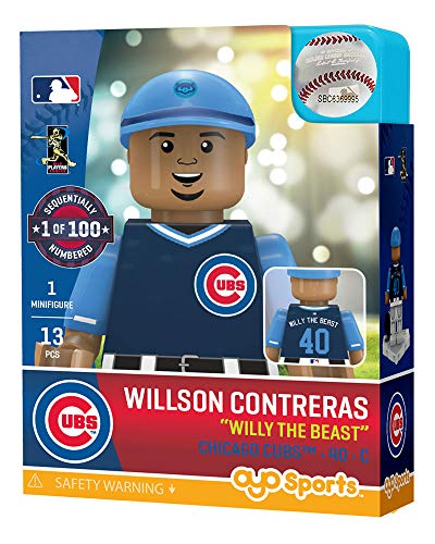 Willson Contreras Willy The Beast Chicago Cubs OYO Sports Toys G5 Player Weekend Minifigure LE of 300