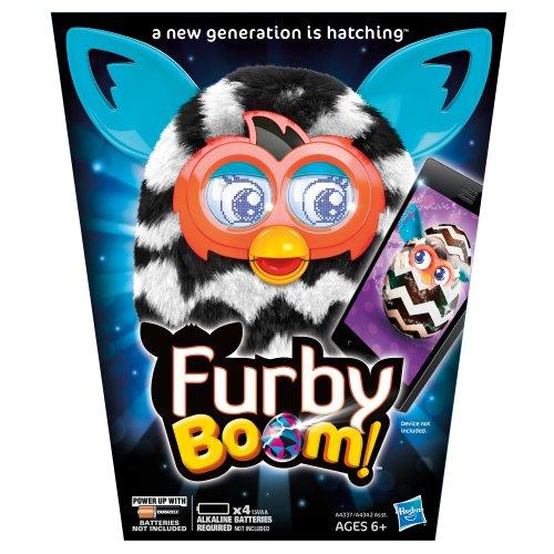 51aNfLaK%2BYL - Furby Boom Figure (Zigzag Stripes)