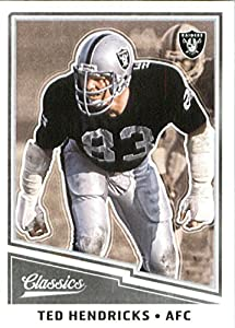 2017 Panini Classic #188 Ted Hendricks Oakland Raiders Football Card