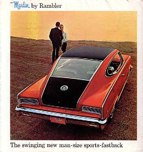 Chrysler Brochure (1965 Rambler Marlin Sales Brochure Literature Book Piece Advertisement Options)