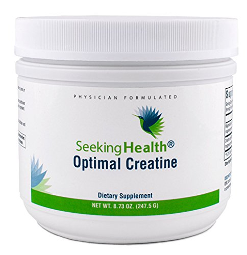 Optimal Creatine | Functional Food Powder | Provides Creatine Bound To Magnesium For Optimal Absorption | 247.5 Grams | 225 Servings Per Container | Seeking Health For Sale