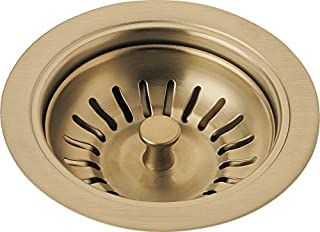 Delta Faucet 72010-CZ Flange and Strainer, Kitchen Sink, Champagne Bronze (B00AGHSQGW) | Amazon price tracker / tracking, Amazon price history charts, Amazon price watches, Amazon price drop alerts