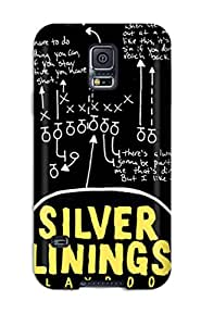 8022961K59001809 New Premium Flip Case Cover Silver Linings Playbook Skin Case For Galaxy S5