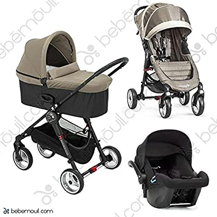 Baby Jogger Silla City Mini 4 Capazo Deluxe Portabebes City Go