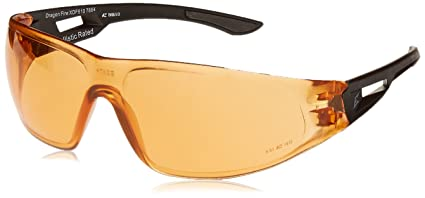 Image Unavailable. Image not available for. Color  Edge Tactical Eyewear  XDF610 Dragon Fire Matte Black with Tiger s Eye Lens 95cf1e6371485