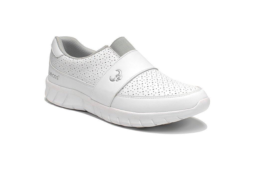 Blanc Suecos® Edda, Chaussures de Travail Mixte Adulte 44 EU
