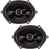 Kicker 40CS684 Car Audio Coaxial 5x7 6x8 Speakers CS68 (Certified Refurbished)