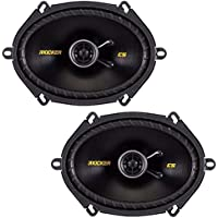 Kicker 40CS684 Car Audio Coaxial 5x7 6x8 Speakers CS68 (Certified Refurbished)