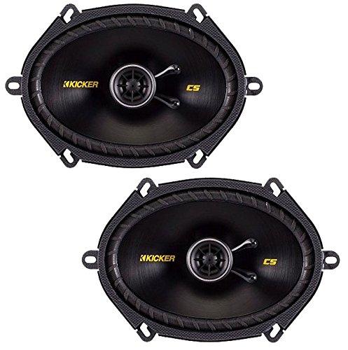 Kicker 40CS684 Car Audio Coaxial 5x7 6x8 Speakers CS68