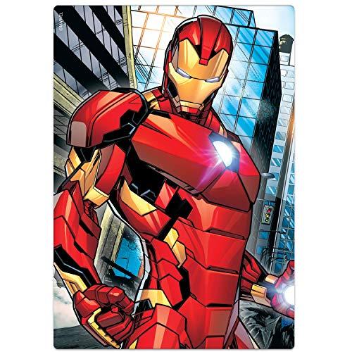 Quebra-cabeça 60 peças - Homem de Ferro - Os Vingadores