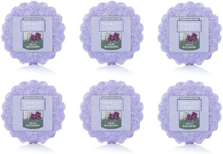 Yankee Candles Lilac Blossoms Tarts Wax Melts Set of 6