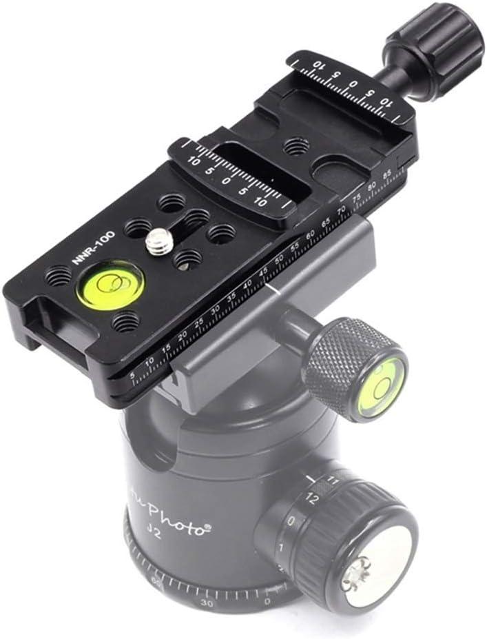CHENZHIQIANG Camera Accessories Wholesales NNR-100 Multi-Purpose 100mm Nodal Rail Slide Plate QR Clamp Macro Panoramic Bracket