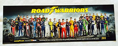 Goodyear Nascar 2015 Poster Original Limited Edition