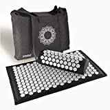 "DrRelief Acupressure Mat 28"" x 17"" - Shiatsu Intervention Mat & Pillow Gift"