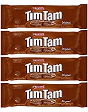 Tim Tam Original Australian Chocolate Biscuits (4 Pack) Box Packaging for Protection - Imported from Australia