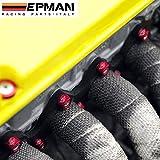 EPMAN Aluminum Jdm Anodized 8MM Metric Header Cup