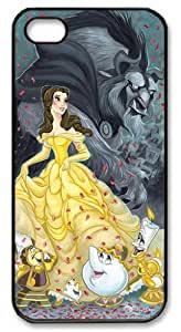 Mystic Zone Beauty and The Beast iPhone 5 Case for iPhone 5 Cover Cartoon Fits Case WSQ0263 by ruishername