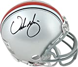 Urban Meyer Ohio State Buckeyes Autographed Mini Helmet - Fanatics Authentic Certified - Autographed College Mini Helmets
