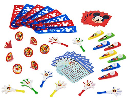 Mickey Mouse Clubhouse Party Favor Pack, Value Pack, Party Supplies - Disney Mickey Party