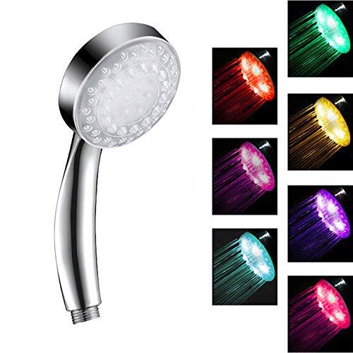 7 Color Led Light Shower Head in US - 8