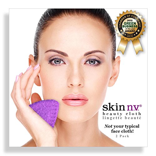 skin-nv-facial-beauty-cloth-2-pack-in-purple-reusable-exfoliating-fluff-free-super-soft-face-cloths-