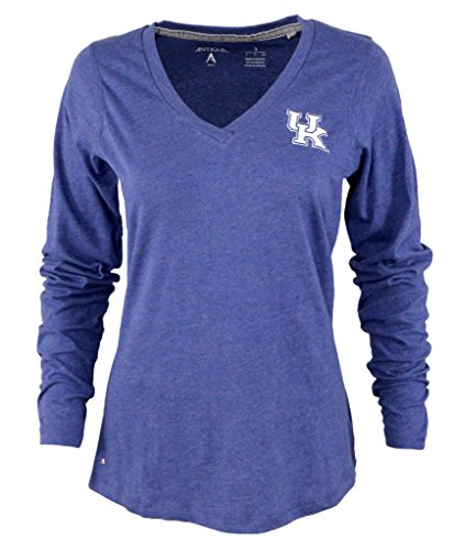 Antigua Ladies Heather (University of Kentucky Ladies Heather Jersey V-Neck Tee (large))