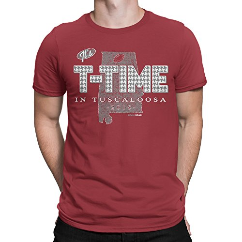 Rival Gear Alabama Crimson Tide Fan T-Shirt, T-Time In Tuscaloosa - Shops Tuscaloosa