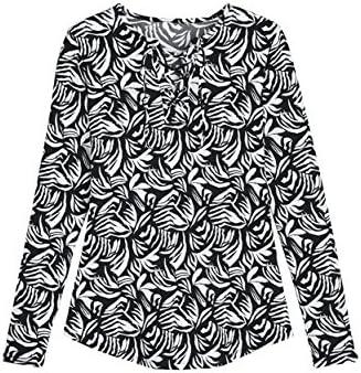 Coolibar Damen Geschn/ürtem Ausschnitt Schwimmshirt