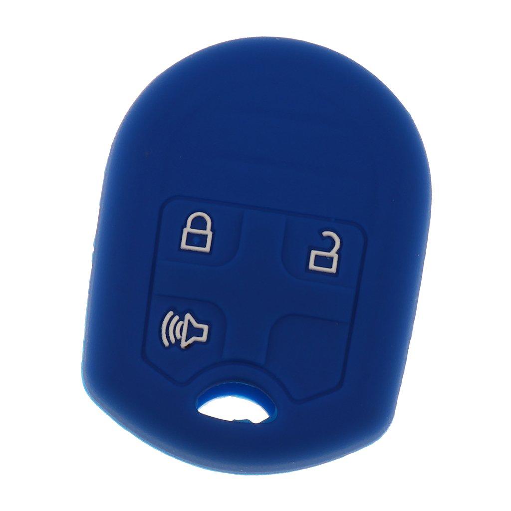 JiliオンラインシリコンキープロテクターシールドケースFobカバーFord MustangエッジExplorer 9483a65e530ebeb0fbf6bf99034c809b B078S3ZWQP Drak Blue Drak Blue