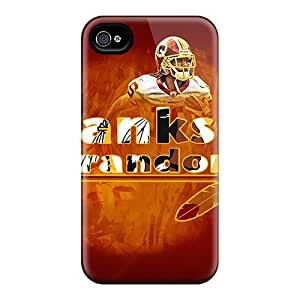 Premium Washington Redskins Heavy-duty Protection Case For Iphone 4/4s