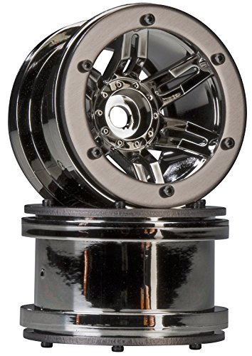 Beadlock 2.2 Ring (Axial AX8095 Rocksters 2.2 Beadlock Wheel, Black Chrome (2))