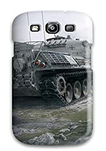 Cute Tpu Leopard 1 World Of Tanks Case Cover For Galaxy S3