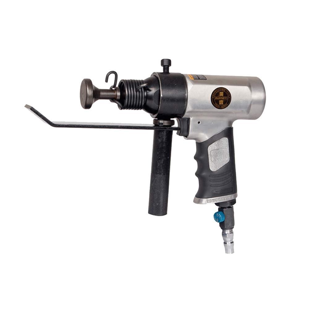 Duct Gap Compactor Tamping Machine Air Hammer Air Shovel Pneumatic Sealing Edge Banding Machine (GY-250 Red)