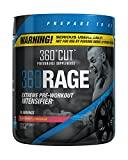 360RAGE, #1 Most Intense Pre Workout Supplement for Serious Users Only, Raspberry Lemonade, 30 Servings