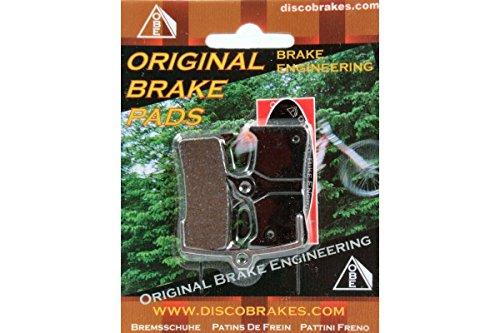 M755 Disc Brake Pads - Kevlar Disc Brake Pads for Shimano XT XTR pre-2002 BR-M755 M03 M04 DiscoBrakes