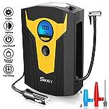 Skey Air Compressor Tire Inflator - Electric Auto Pump 12V DC Portable...