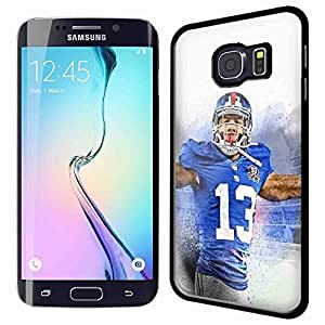 Odell Beckham Jr Art Drawing for Iphone and Samsung Galaxy Case (Samsung Galaxy S6 Edge Black)