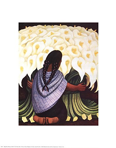 The Flower Seller by Diego Rivera Art Print, 16 x 20 inches