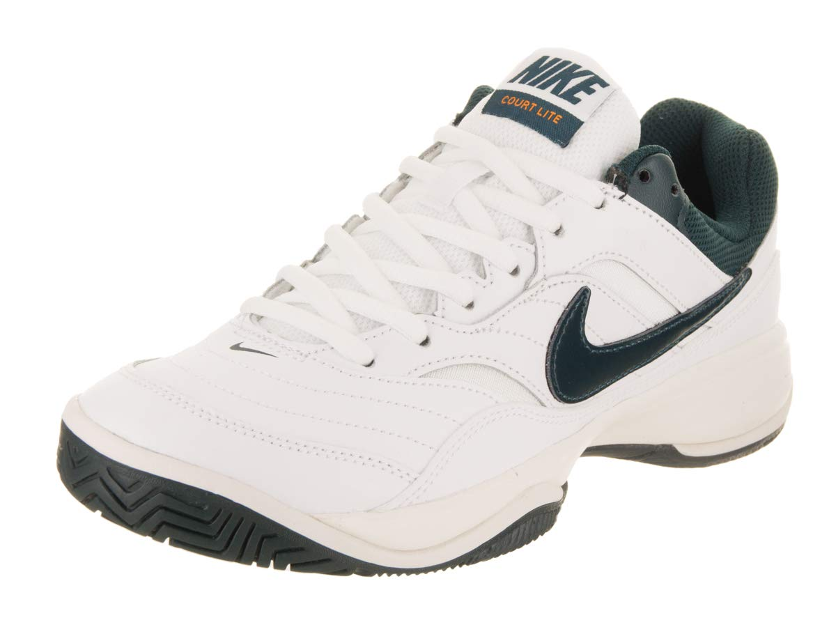 NIKE Women's Court Lite White/Midnight Spruce Phantom Tennis Shoe 8 Women US