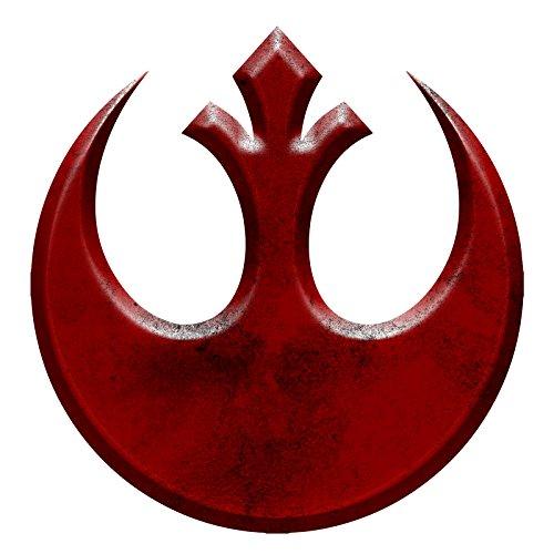 (Rebel Inspired Symbol Red Alliance Sticker 5