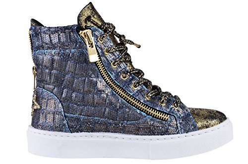 Sneaker Gold Women's Beaded 2Star Blue 36 Shoes wXXqvBga6r