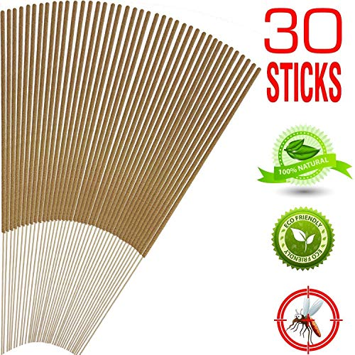 Mosquito Protective Sticks, Eco Friendly, 30 - Sticks Sandalwood Mosquito