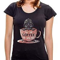 Camiseta May the Coffee - Feminina