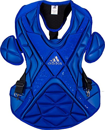 adidas Performance PRO Series Baseball Chest Protector, Collegiate Royal/Silver, 16