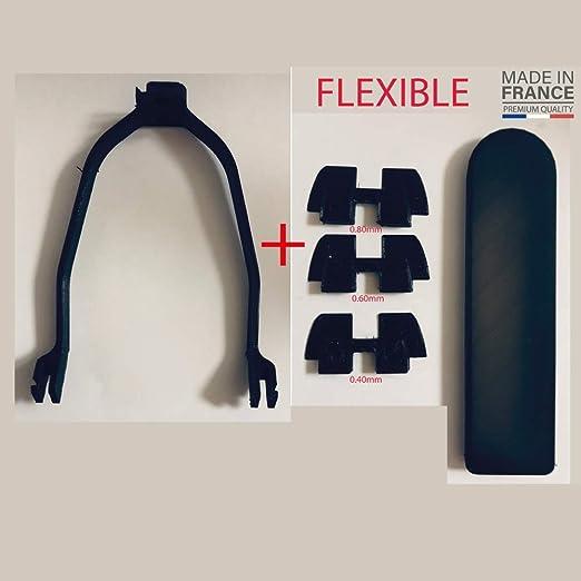 Kit 3X pi/èces Anti Vibration Potence 3D Xiaomi Mijia M365 // M187. Support de Garde-Boue Protection c/âble pour la lumi/ère arri/ère 3Dprinting59 Protection Waterproof pour Dashboard Bouton Power